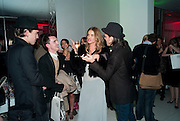 Rosie Huntington-Whiteley; Matthew Williamson, English National Ballet launches its Christmas season with a partyu before s performance of The Nutcracker at the Coliseum.  St. Martin's Lane Hotel.  London. 16 December 2009 *** Local Caption *** -DO NOT ARCHIVE-© Copyright Photograph by Dafydd Jones. 248 Clapham Rd. London SW9 0PZ. Tel 0207 820 0771. www.dafjones.com.<br /> Rosie Huntington-Whiteley; Matthew Williamson, English National Ballet launches its Christmas season with a partyu before s performance of The Nutcracker at the Coliseum.  St. Martin's Lane Hotel.  London. 16 December 2009