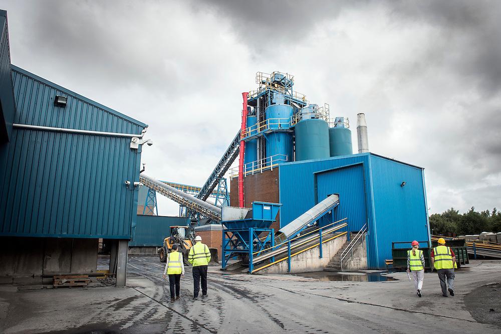 Queensferry (Flintshire), England 24 June 2014<br /> Knauf Insulation factory.<br /> Photo: Ezequiel Scagnetti