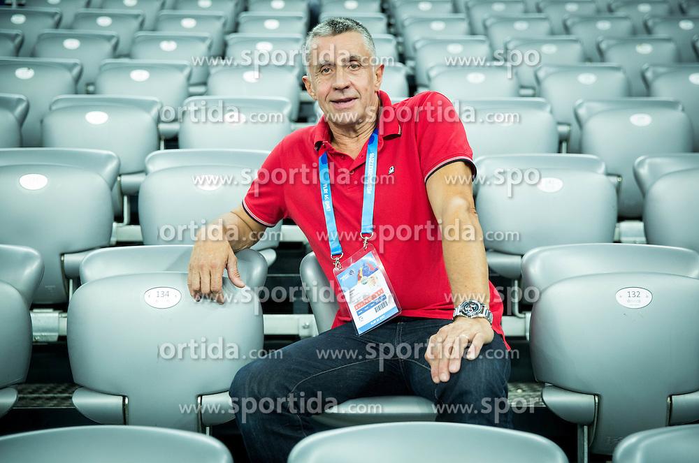 Boris Zrinski at Day 2 in Group C of FIBA Europe Eurobasket 2015, on September 6, 2015, in Arena Zagreb, Croatia. Photo by Vid Ponikvar / Sportida