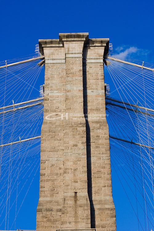 Brooklyn Bridge in New York October 2008