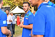 Marco Antonio Re<br /> Presentazione Banco di Sardegna Dinamo Sassari alle Autorità e Sponsor<br /> Alghero, Tenute Sella e Mosca, 05/09/2018<br /> Foto L.Canu / Ciamillo-Castoria