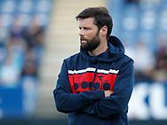 FODBOLD: Cheftræner Christian Lønstrup under opvarmningen til kampen i ALKA Superligaen mellem SønderjyskE og FC Helsingør den 28. juli 2017 på Sydbank Park i Haderslev. Foto: Claus Birch