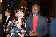 CANDIDA GERTLER, HURVIN ANDERSON, TenTen. The Government Art Collection/Outset Annual Award. Champagne reception to announce the inaugural artist Hurvin Anderson and unveil his 2018 print. Locarno Suite, Foreign and Commonwealth Office. SW1. 2 October 2018