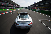 October 30, 2016: Mexican Grand Prix. F1 Safety Car