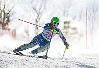 FIS Alpine Slalom at Proctor/Blackwater February 21, 2013.    Karen Bobotas Photographer