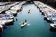 the port in Lekeitio.
