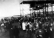 Cherry Mine disaster, crowd at mouth of shaft. The Cherry Mine Disaster is the name for the events surrounding a fire in the Cherry, Illinois, USA coal mine in 1909 in which 259 men and boys died