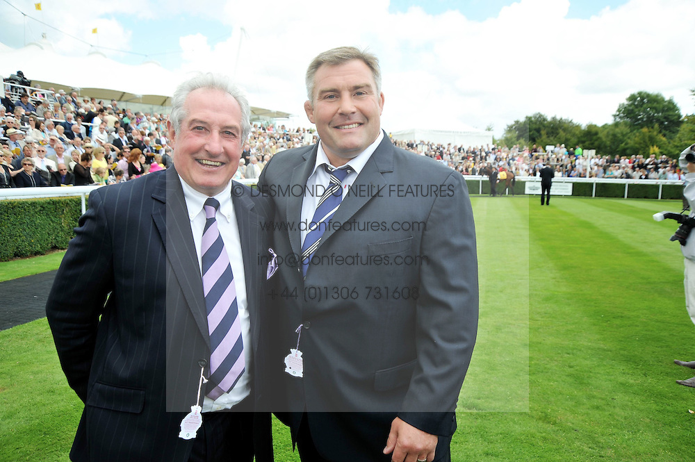 Left to right, rugby legends GARETH EDWARDS and JASON LEONARD at day 1 of the annual Glorious Goodwood racing festival held at Goodwood Racecourse, West Sussex on 28th July 2009.