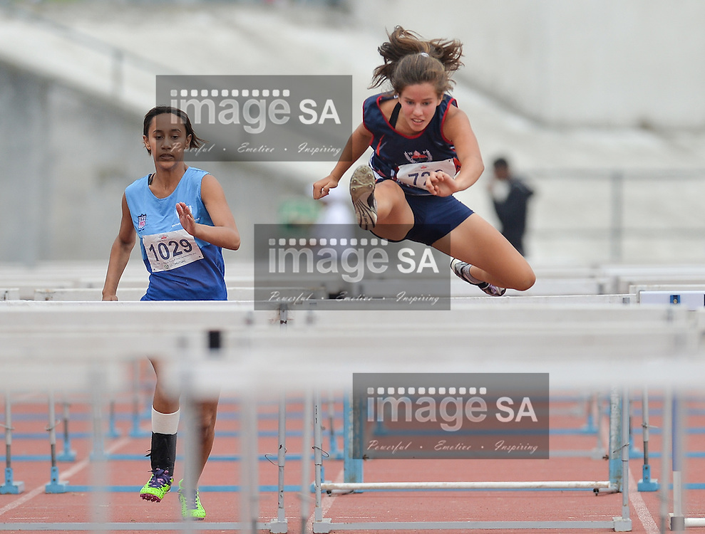 CAPE TOWN, SOUTH AFRICA - Saturday 5 March 2016, during the Western Province Athletics Junior &amp; U23 Track and Field athletic championships at the Vygieskraal Athletics Stadium in Athlone. <br /> Photo by Roger Sedres/ImageSA