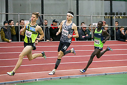 Kidder Piazza lead Cheserek, Mile<br /> Boston University Athletics<br /> Hemery Invitational Indoor Track & Field