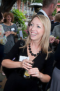 EMILIE THYSSE, Archant Summer party. Kensington Roof Gardens. London. 7 July 2010. -DO NOT ARCHIVE-© Copyright Photograph by Dafydd Jones. 248 Clapham Rd. London SW9 0PZ. Tel 0207 820 0771. www.dafjones.com.
