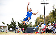 UCSB junior Jeff Lam during the Big West Championships Track and Field men's long jump event - Cal State Fullerton, Fullerton, CA. Friday May 5, 2017.<br />