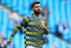 Sergio Aguero of Manchester City - Mandatory by-line: Robbie Stephenson/JMP - 19/08/2018 - FOOTBALL - Etihad Stadium - Manchester, England - Manchester City v Huddersfield Town - Premier League