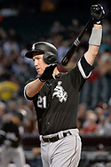 PHOENIX, AZ - MAY 24:  Todd Frazier #21 of the Chicago White Sox at bat in the first inning against the Arizona Diamondbacks at Chase Field on May 24, 2017 in Phoenix, Arizona. The Arizona Diamondbacks won 8-6.  (Photo by Jennifer Stewart/Getty Images)