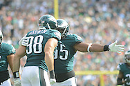 in the fourth quarter Sunday,  September 11, 2016 at Lincoln Financial Field in Philadelphia, Pennsylvania.  (Photo by William Thomas Cain)