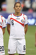 26 October 2014: Carol Sanchez (CRC). The United States Women's National Team played the Costa Rica Women's National Team at PPL Park in Chester, Pennsylvania in the 2014 CONCACAF Women's Championship championship game. By advancing to the final, both teams have qualified for next year's Women's World Cup in Canada. The United States won the game 6-0.