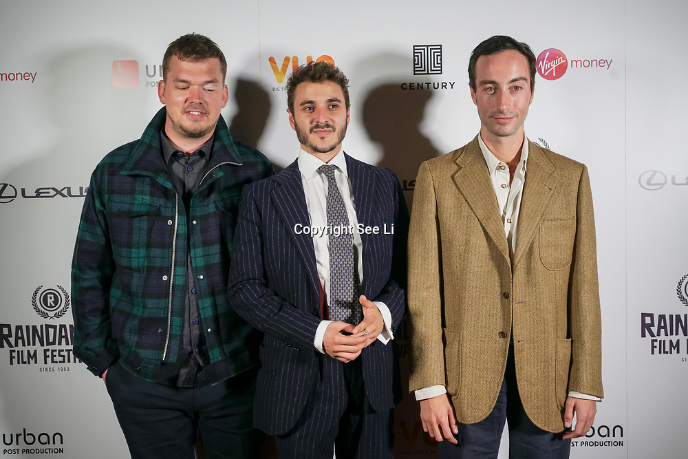 London, England, UK. 28th September 2017. Casts of Noble Earth attend Raindance Film Festival Screening at Vue Leicester Square, London, UK.