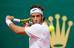 MONTE-CARLO, MONACO - Monday, April 12, 2010: Feliciano Lopez (ESP) in action during the 1st Round match at the ATP Masters Series Monte-Carlo at the Monte-Carlo Country Club. (Photo by David Rawcliffe/Propaganda)