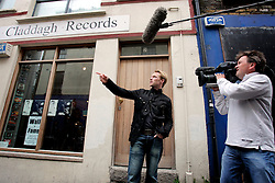 IRELAND DUBLIN 9MAY06 - Singer Ronan Keating (29) outside Claddagh Records, the address of his former record label in his native Dublin. The popstar emerged on the international scene in 1994 with the band Boyzone and has since gone solo and is about to release his new album 'Bring You Home' in June this year...jre/Photo by Jiri Rezac..© Jiri Rezac 2006..Contact: +44 (0) 7050 110 417.Mobile:  +44 (0) 7801 337 683.Office:  +44 (0) 20 8968 9635..Email:   jiri@jirirezac.com.Web:    www.jirirezac.com..© All images Jiri Rezac 2006 - All rights reserved.