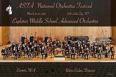 Explorer Middle School Advanced Orchestra