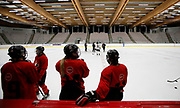The Canadian Olympic Women's Hockey Team trains at WinSport in Calgary, Alberta on October 3rd, 2017.