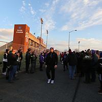 SALEM, VA - DECEMBER 15: during a game between University of Mary Hardin-Baylor Crusaders and the University of Mount Union Purple Raiders at Salem Stadium on December 15, 2017 in Salem, VA. (Photo by Larry Radloff, d3photography.com)