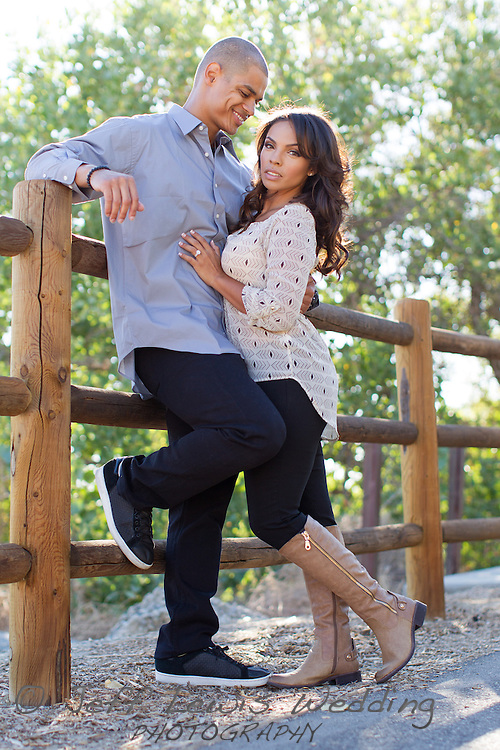 17 September 2013: Engagement pictures of Jonathan Lewis and Genesis Aguirre at South Fork trail in Santa Clarita, CA.