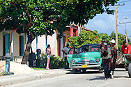 Horse and cart in Floro Perez, Holguin, Cuba.