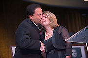 Homecoming 2008: Alumni Awards Gala 9/26/2008..Sedat I. Gokcen (BSEE'82, MA'84)(medal of merit) and Jeanne M. Gokcen BSHS '82, MAHS '84(medal of merit)