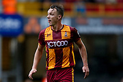 Bradford City defender Anthony McMahon (29)  during the EFL Sky Bet League 1 match between Bradford City and Doncaster Rovers at the Northern Commercials Stadium, Bradford, England on 30 September 2017. Photo by Simon Davies.