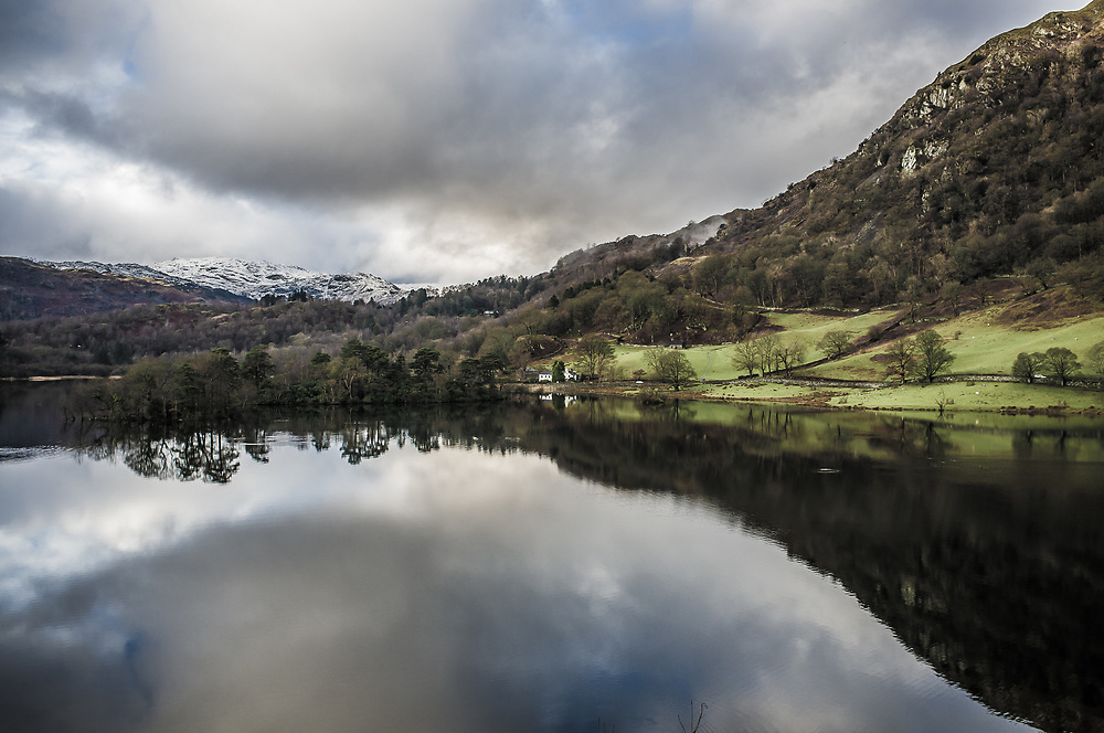 Rydal Water, Lake District, Cumbria, Landscape,