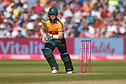 Ben Duckett of Notts Outlaws batting during the Vitality T20 Finals Day 2019 match between Notts Outlaws and Worcestershire Rapids at Edgbaston, Birmingham, United Kingdom on 21 September 2019.