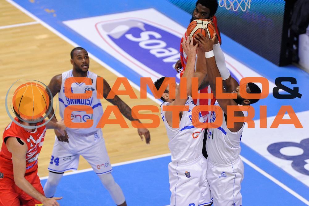 Marco Cardillo, Carter Robert Lawrence <br /> Enel Brindisi, Openjobmetis Varese<br /> Lega Basket Serie A 2016/2017<br /> Brindisi, 26/02//2017<br /> Foto Ciamillo-Castoria