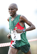GEORGE, SOUTH AFRICA - SEPTEMBER 10: David Manja of Athletics North West (ANW) in the mens 10km  during the 2016 South African Cross Country Championships held at The Olympia School of Skills in Pacaltsdorp on September 10, 2016 in George, South Africa. (Photo by Roger Sedres/Gallo Images)