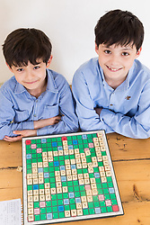 Brothers Reuben and Josh Moisey are top level Scrabble Champions with 11 year-old Reuben crowned European Youth Scrabble Champion and 8 year-old Josh became World Under Eight Scrabble Champion in Dubai in 2018. London, August 15 2019.