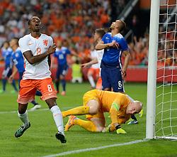 05-06-2015 NED: Oefeninterland Nederland - USA, Amsterdam<br /> Oranje verliest oefeninterland tegen Verenigde Staten met 4-3 / Georginio Wijnaldum #8