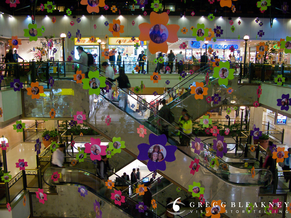 High End Shopping Mall Andino in the Zona Roasa - Bogota - Colombia