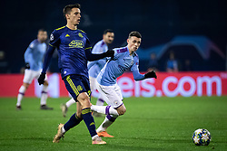 during football match between GNK Dinamo Zagreb and Manchester City in 6th Round of UEFA Champions league 2019/20, on December 11, 2019 in Maksimir, Zagreb, Croatia. Photo by Blaž Weindorfer / Sportida