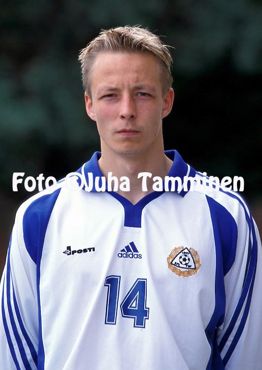 03.06.2000, Riga, Latvia. .Janne Salli - Finland.©JUHA TAMMINEN