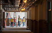 Construction at Worthing High School, October 16, 2015.