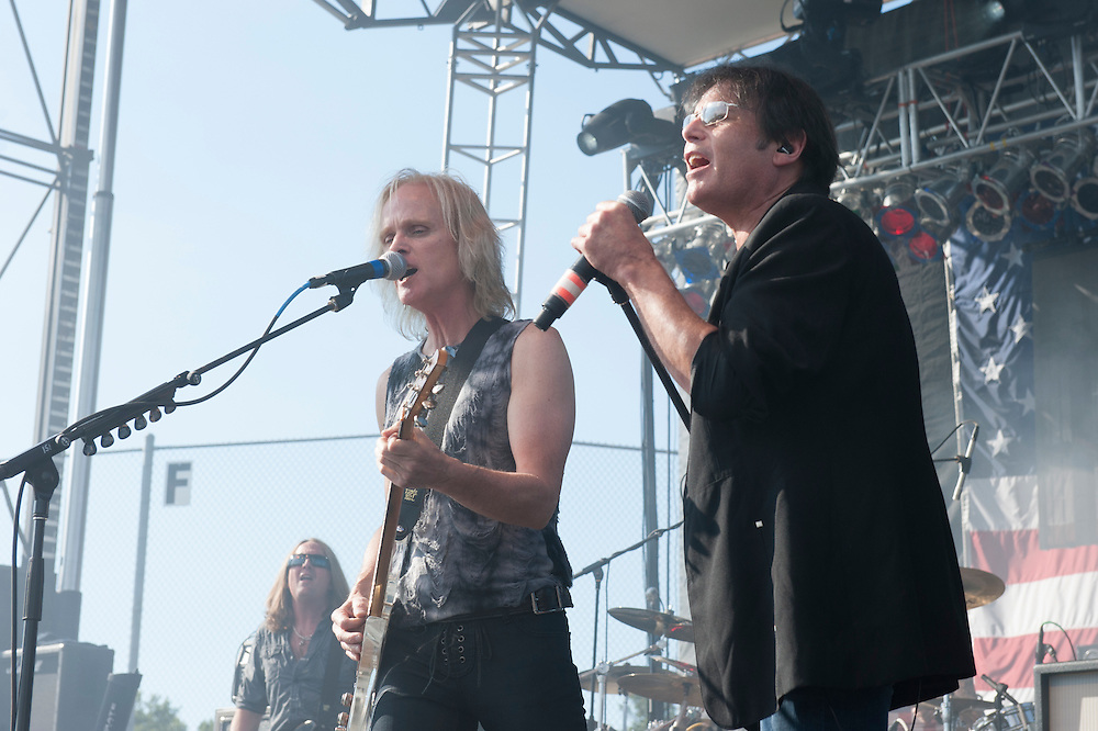 Survivor and Jimi Jamison perform live in O'Fallon, MO on July 4th, 2014