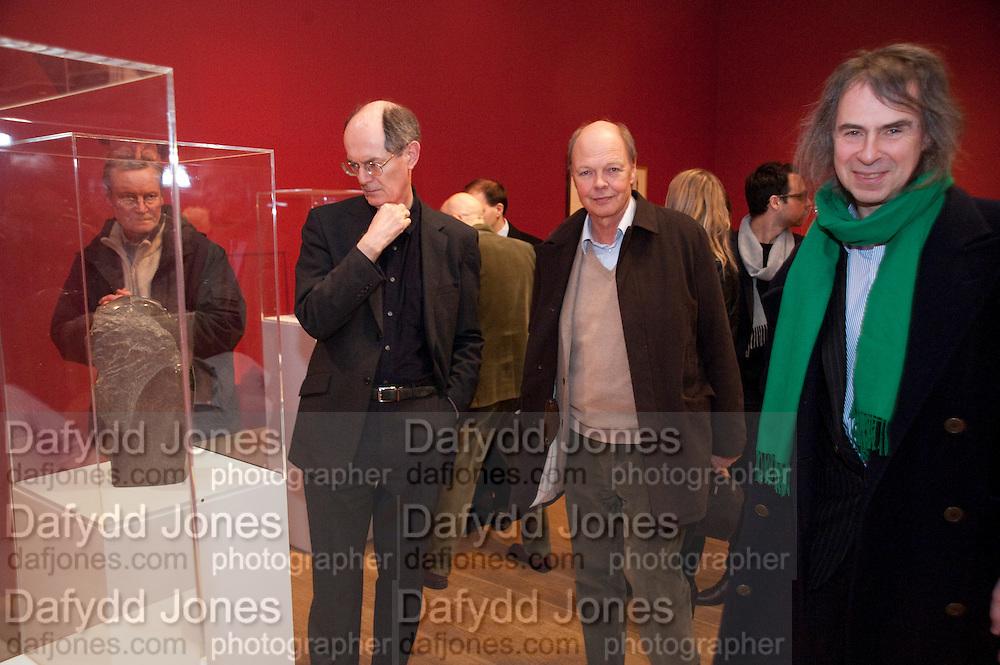 SIR RICHARD CORK; NICHOLAS LOGSDAIL; IVOR BRAKA, Henry Moore, Tate Britain. London. 22 February 2010