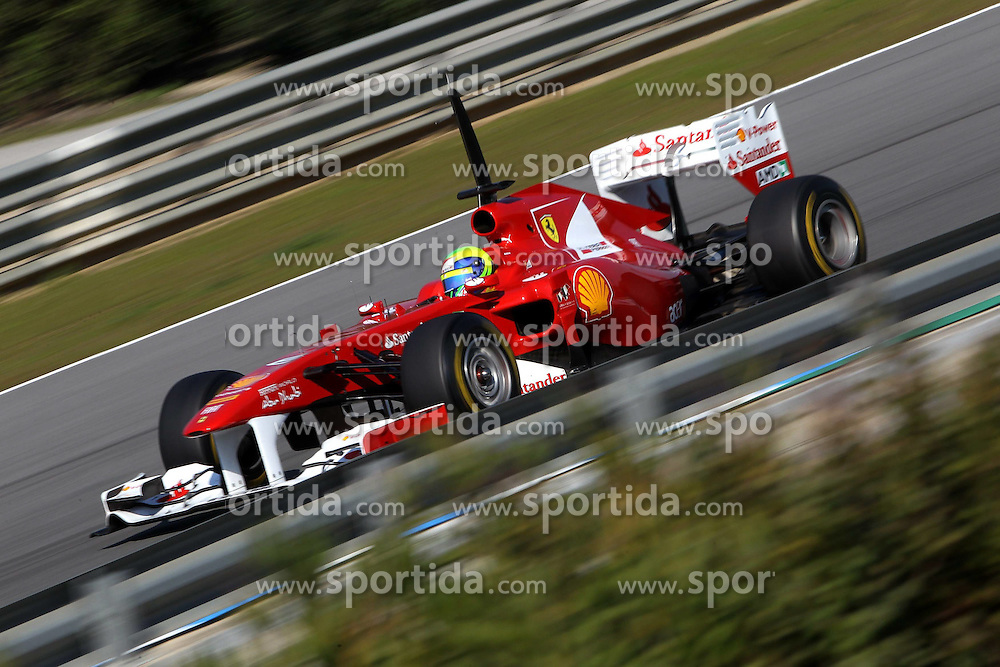 11.02.2011, Street Circuit. Jerez, ESP, Formel 1 Test 2 Valencia 2011,  im Bild Felipe Massa (BRA), Scuderia Ferrari EXPA Pictures © 2011, PhotoCredit: EXPA/ nph/   poleposition.at        +++++ only AUT and SLO