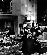 In a Mayfair drawing room, 1930