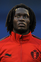 Football Fifa Brazil 2014 World Cup Matchs-Qualifier / Europe - Group A /<br /> Croatia vs Belgium 1-2  ( Maksimir Stadium - Zagreb , Croatia )<br /> Romelu LUKAKU of Belgium , during the match between Croatia and Belgium