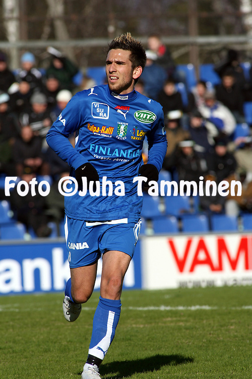 21.04.2007, Hietalahti, Vaasa, Finland..Veikkausliiga 2007 - Finnish League 2007.Vaasan Palloseura - Tampere United.Tomi Petrescu - TamU.©Juha Tamminen.....ARK:k