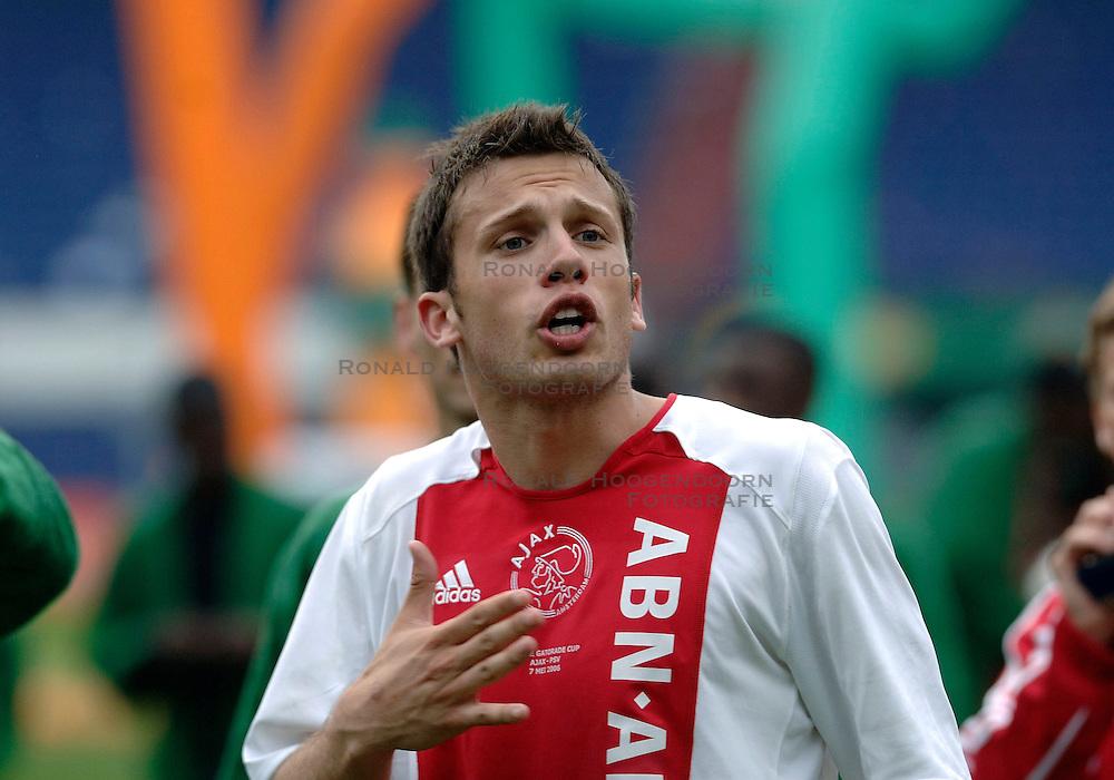 07-05-2006 VOETBAL: FINALE GATORADE CUP: AJAX - PSV: ROTTERDAM<br /> Johnny Heitinga<br /> &copy;2006-WWW.FOTOHOOGENDOORN.NL