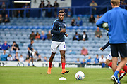 Portsmouth Midfielder, Jamal Lowe (10) during the EFL Sky Bet League 1 match between Portsmouth and Oxford United at Fratton Park, Portsmouth, England on 18 August 2018.