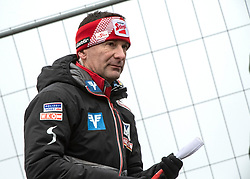 03.02.2019, Energie AG Skisprung Arena, Hinzenbach, AUT, FIS Weltcup Ski Sprung, Damen, im Bild Harald Rodlauer, ÖSV Damen Skisprung Cheftrainer // Harald Rodlauer, ÖSV Damen Skisprung Cheftrainer during the woman's Jump of FIS Ski Jumping World Cup at the Energie AG Skisprung Arena in Hinzenbach, Austria on 2019/02/03. EXPA Pictures © 2019, PhotoCredit: EXPA/ Reinhard Eisenbauer
