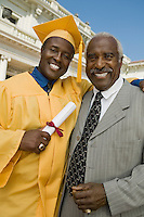Graduate with Father